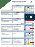 Calendário 2019.1 - 1º Ao 6º Período Com Eventos