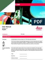TPS1200 User Manual En