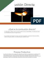 Combustión Directa