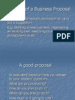 Unit 3-2 Business Proposal Format