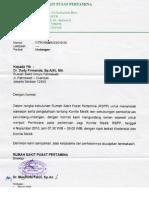 Dody Firmanda 2010 - Kredensial dan Komite Medik RS Pusat Pertamina (RSPP) Jakarta