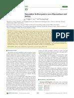 Inhibitory Effects of Muscadine Anthocyanins on r-Glucosidase