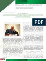 Sobre José Galat, 30 años en la  Universidad La Gran Colombia