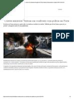 ″Coletes amarelos″ entram em confronto com polícia em Paris _ Notícias internacionais e análises _ DW _ 20.04.2019
