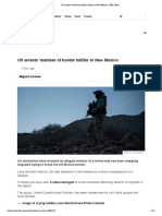 US Arrests 'Member of Border Militia' in New Mexico - BBC News