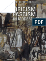Roberts, David D. - Historicism and Fascism in Modern Italy [2007]