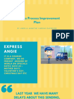 Business Process Improvement Plan