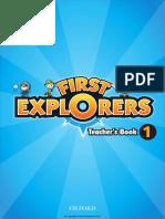 First Explorers TEACHERS BOOK