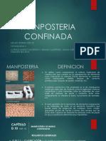 MANPOSTERIA CONFINADA EXPO TECNO II.pptx