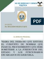 CARACTERISTICAS DEL D° PROCESAL, SUJETOS PROCESALES, OBJETIVOS 4