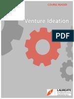 Venture Ideation Course Reader (MPU 3213)