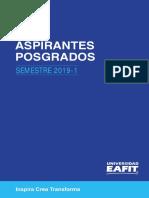 Guía aspirantes postgrado