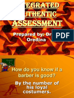Authentic Assessment Lecture