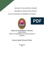 Laboratorio 2 Antenas EPIE-UNSA