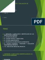 Cursoformulación y Evaluación de Proyectos Fe Nueva Presentación