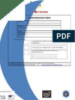 Confirmation  Form - AYN Forum