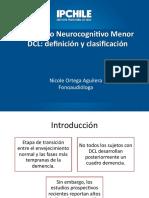 DCL Trastorno Neurocogmitivo Menor
