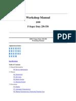 WS Manual 1999 F-Super Duty-S 1, G 00_Gen Info, & S2, Susp Driveline - Part 1-A