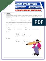 Sistema Sexagesimal Angular Para Primero de Secundaria