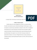 medt 7462  reflective summary