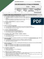 Prueba de Aptitud 1ª Fase Primaria 2006