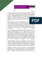 El País - El 'Agujero Negro' de La Educación