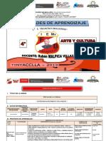 UNIDAD I ARTE Y CULTURA  4ª.docx