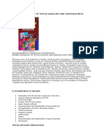 Handbook on Textile Auxiliaries With Formulations