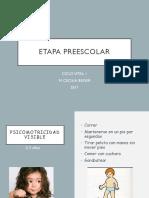 Clase 5 Etapa Preescolar