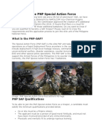 How to Join the PNP Special Action Force
