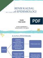 Inferensi Kausal Dalam Epidemiologi