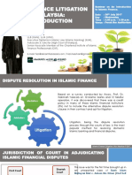 Intro to Islamic Finance Litigation