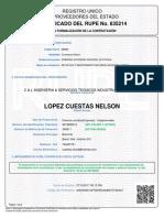 Certificado Rupe 1303266
