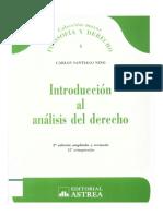Tema 1 Contexto Del Derecho - Carlos Santiago Nino