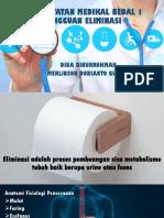 KEPERAWATAN MEDIKAL BEDAL 1 ELIMINASI.pptx
