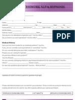 Success Work Intake Form