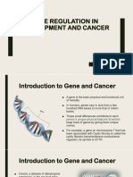Gene Regulation in Development and Cancer