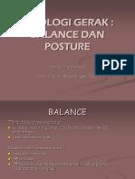 Balance & Postur DM