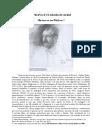 Pierre Michel, « À propos d'un dessin de Rodin »
