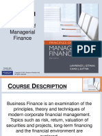Chapter 1 Role of Managerial Finance pmf13