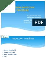 Receiving Inspection Procedure