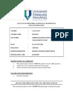 Final Exam Calculus Sem III 20152016