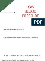 Low Blood Pressure - Copy