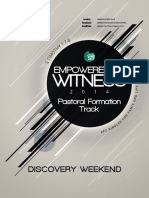 CFC SFL Discovery Weekend