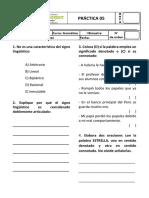 Práctica 05 de Gramática - 6to de Primaria.docx