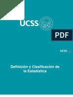 Estadística - (Tema 1) - Definiciones básicas