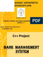 Bms(BANKING MANAGEMENT SYSTEM)