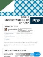 318058990 Simple Understanding of S4 HANA