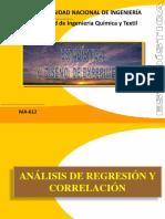Análisis de Regresión y Correlación