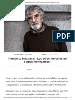 Humberto Maturana_ _Los Seres Humanos No Somos Monógamos_ _ Culto